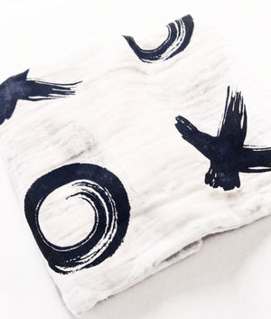 Urban Baby Organic Cotton Swaddle Blanket - BumbleBox