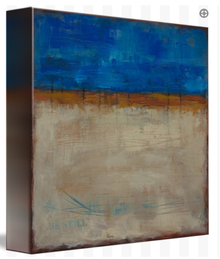 Art and Soul Art-Be Still Gallery Wrapped Canvas