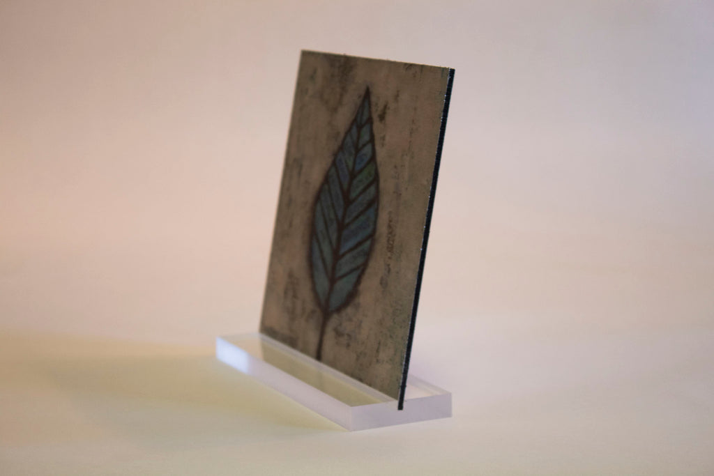 Fruit of the Spirit- 6x6 Aluminum Plaque w/stand