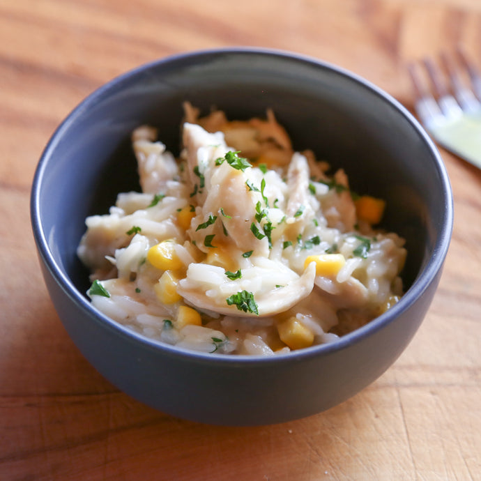 Mini Meal - Chicken & Sweetcorn Risotto