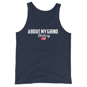 About My Grind Flag Tank