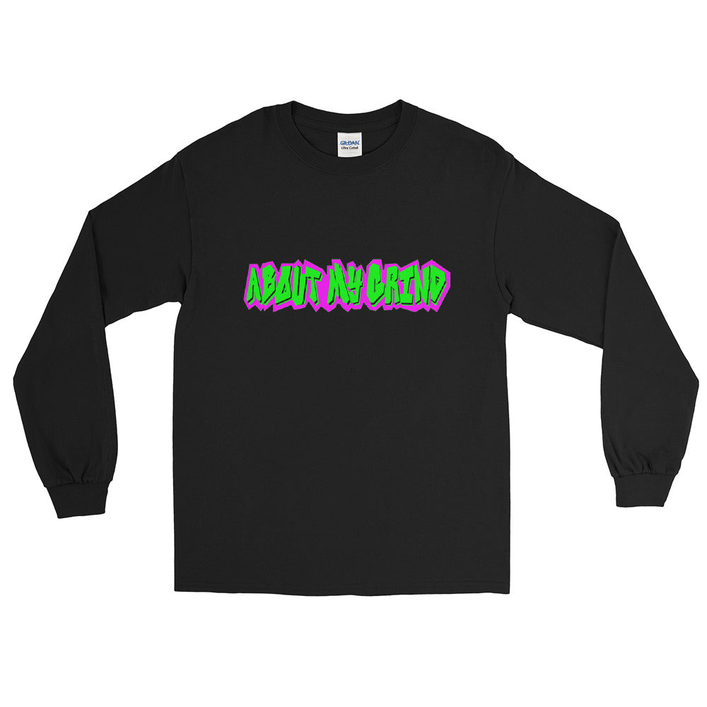 About My Grind Graffiti Long Sleeve Shirt