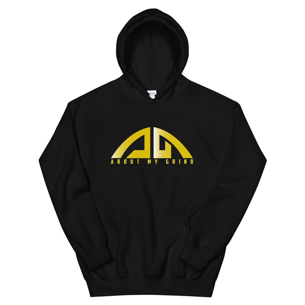 AMG Logo Foil Gold Hoodie