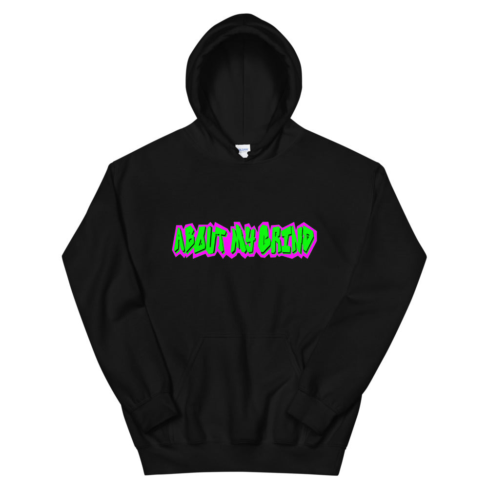 About My Grind Graffiti Hoodie