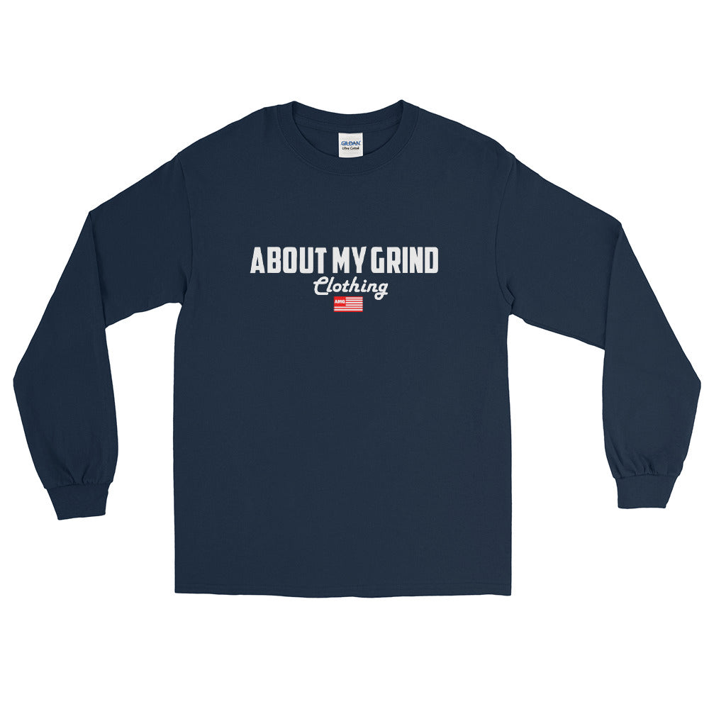 About My Grind Flag Long sleeve Tee
