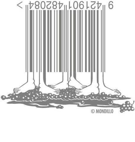 stomping grapes barcode