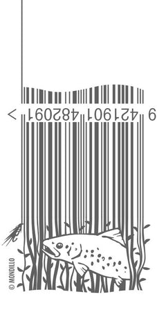 fly fishing barcode