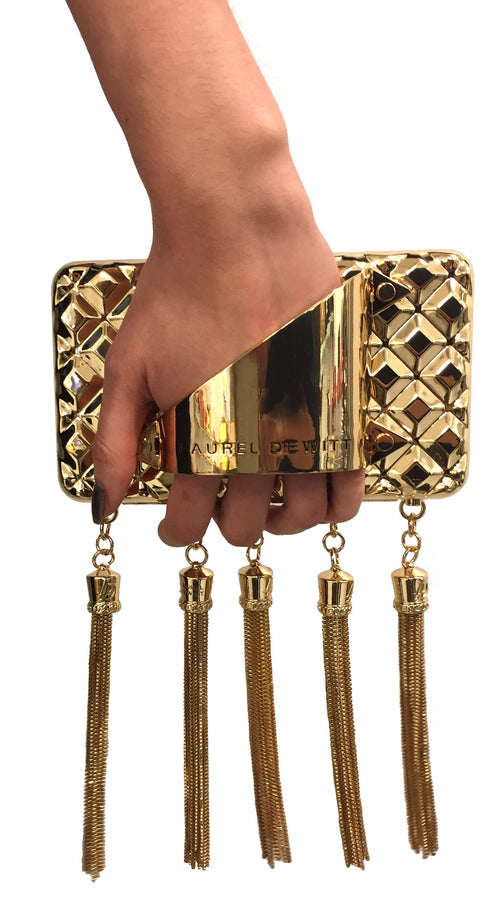 HAND HARNESS MINAUDIÈRE / CLUTCH GOLD