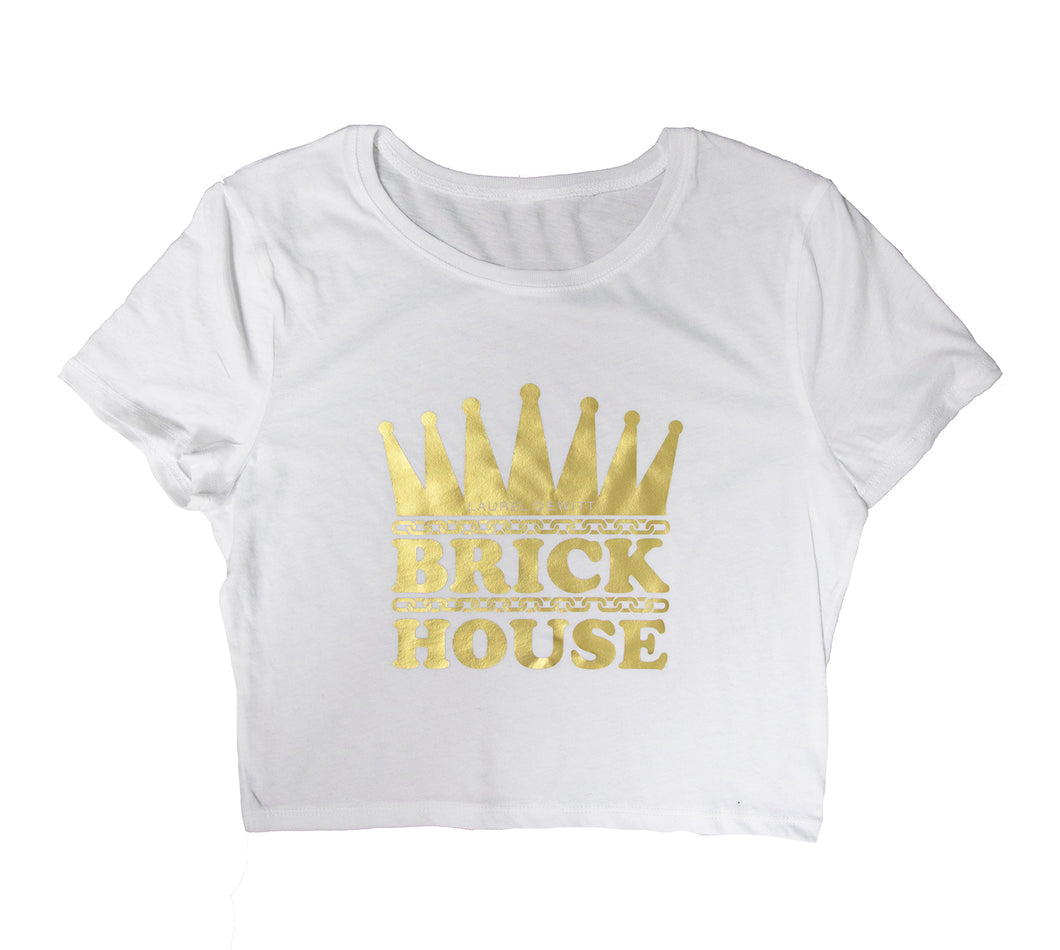 LD Brick House Cropped T-Shirt