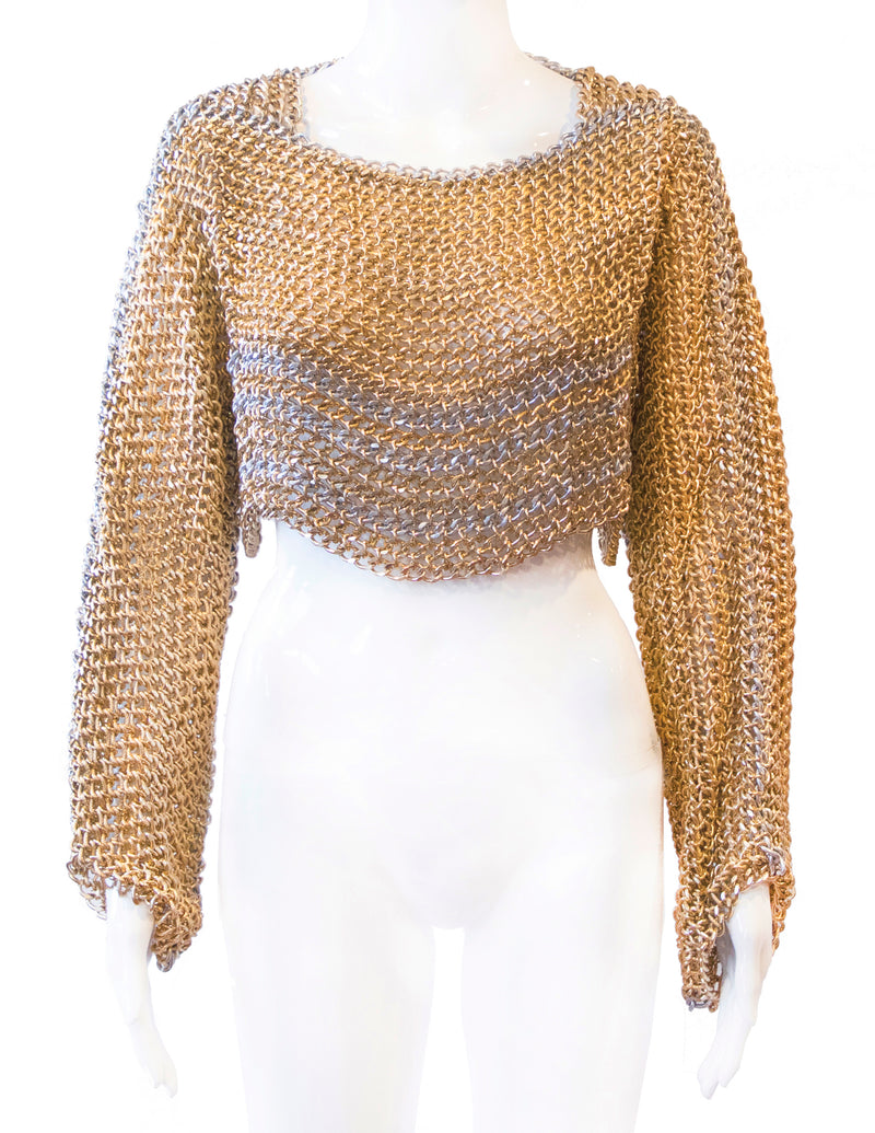 Uptown Crop Sweater