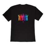 Laurel DeWitt Black with Rainbow Pride Print Unisex T-Shirt - Limited Edition