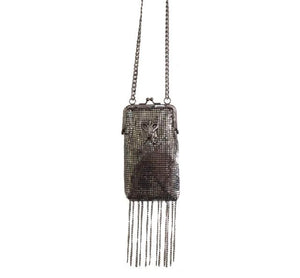 SULTANA METAL MESH CROSSBODY
