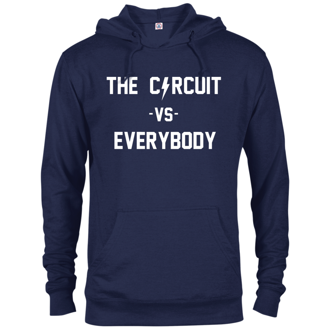 The Circuit vs Everybody Delta French Terry Hoodie