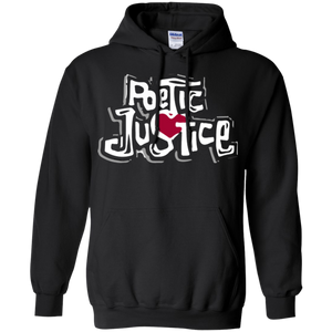 Poetic Justice White text Pullover hoodie (1993)