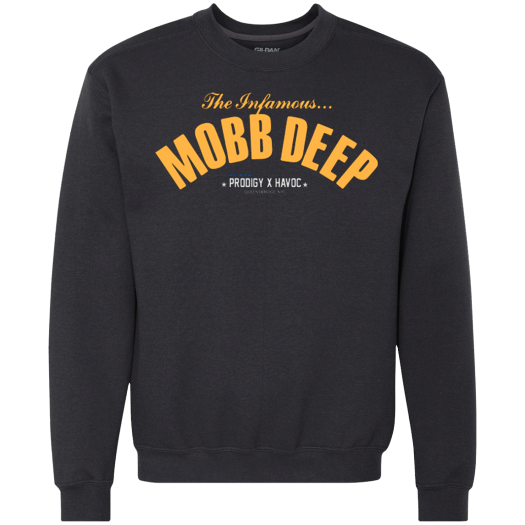 Mobb Deep (Infamous) Heavyweight Crewneck Sweatshirt 9 oz.