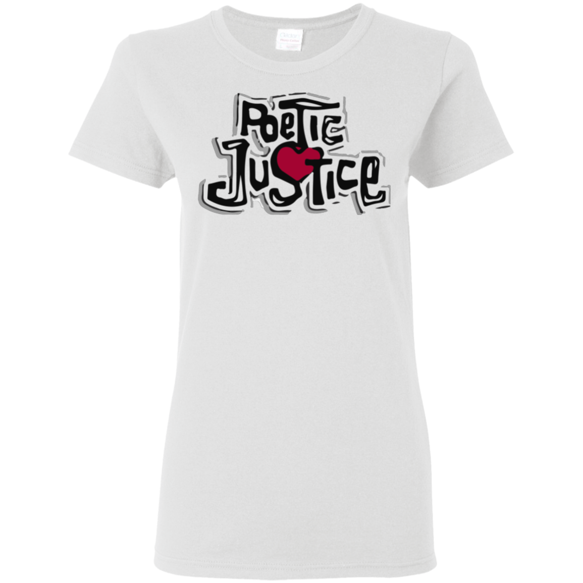 Poetic Justice Ladies White T-shirt (1993)