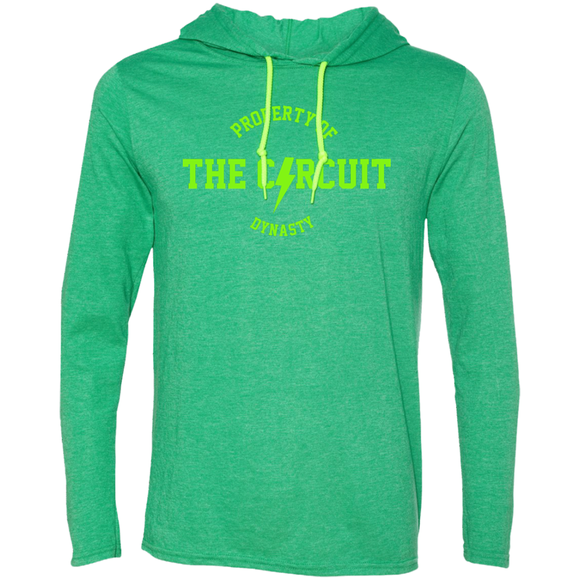 Property of the Circuit Body Fit Hoodie - Neon Print