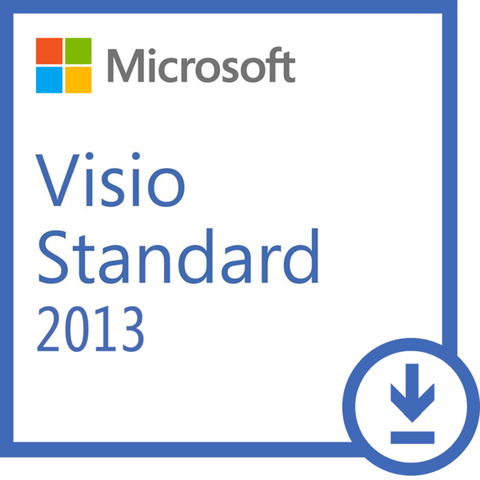 visio std 2013  MS Visio Standard 2013 Windows - 1 Install ( Instant Download ...