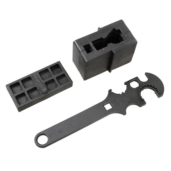 3 Combo Gunsmith Armorer's Tool Kit ar15 Lower & Upper Vise Block & Wrench Hunting Tools Accessories For Airsoft Outdoor Hunting - Save Money Buy Direct