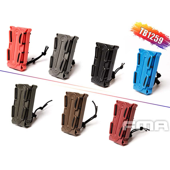 New FMA Outdoor Tactical Soft Shell Scorpion Mag Magazine Pouch Carrier for 9mm TB1259 BK/DE/FG - Save Money Buy Direct