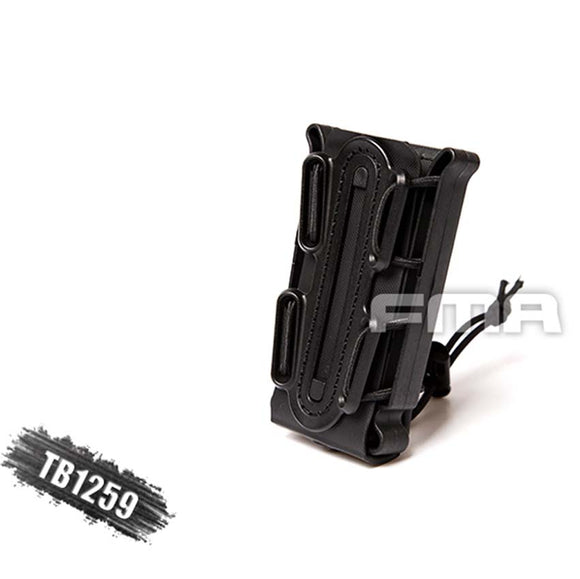 New FMA Outdoor Tactical Soft Shell Scorpion Mag Magazine Pouch Carrier for 9mm TB1259 BK/DE/FG Free Shipping - Save Money Buy Direct