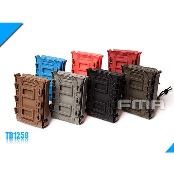 New FMA Outdoor Tactical Soft Shell Scorpion Mag 7.62 Magazine Pouch Carrier BK/DE/FG TB1258 - Save Money Buy Direct