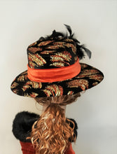 Velvet Multi Colored Women's Hat