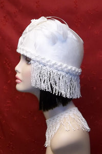 Roaring 20's inspired. Wedding Cloche