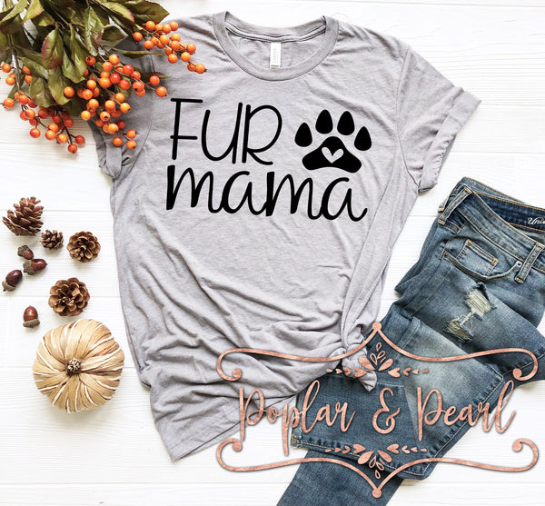 Fur Mama SVG DXF PNG