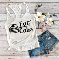 Eat Cake SVG DXF PNG