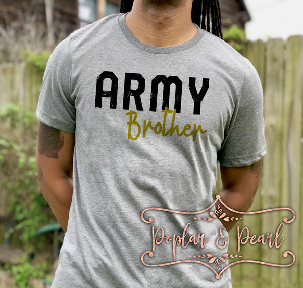 Army Brother SVG DXF PNG