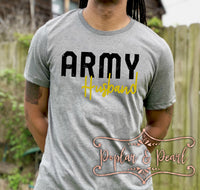 Army Husband SVG DXF PNG