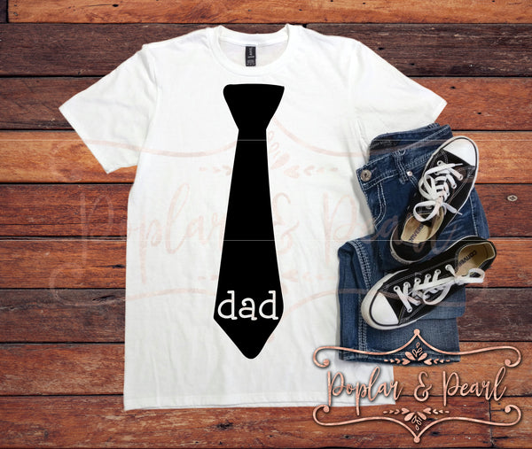 Dad Hand Drawn Tie SVG DXF PNG