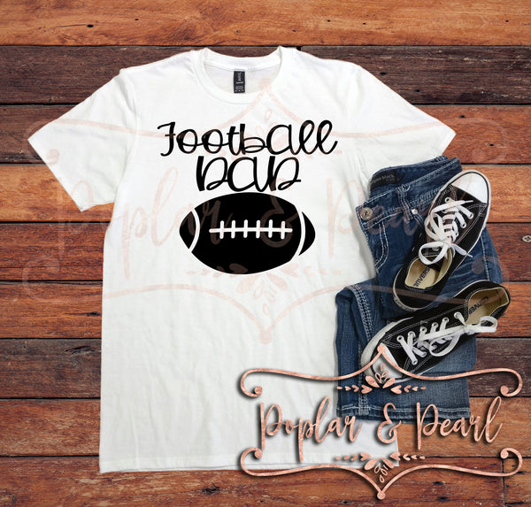 Football Dad SVG DXF PNG