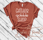 Gather Gobble Shop SVG DXF PNG