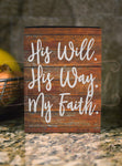 His Will, His Way SVG DXF PNG