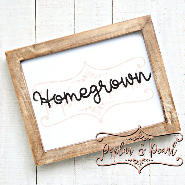 Homegrown SVG DXF PNG
