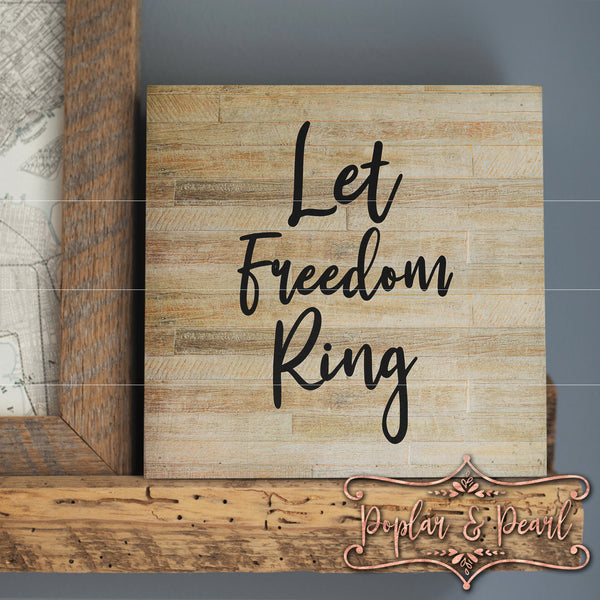 Let Freedom Ring SVG DXF PNG