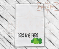 Pass the Peas SVG DXF PNG