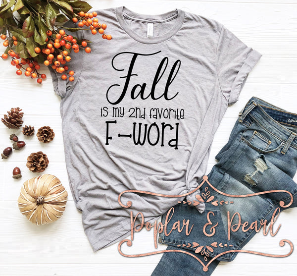 Fall Fave F-word SVG DXF PNG