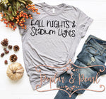 Fall Nights Stadium Lights SVG DXF PNG