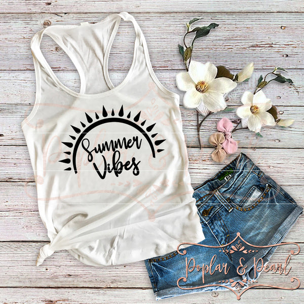 Summer Vibes SVG DXF PNG