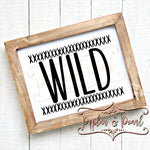 Wild SVG DXF PNG