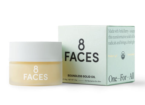 8 Faces Beauty Boundless Solid Oil available at Oliv Beauty Market Canada