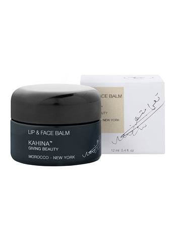 Kahina Giving Beauty Lip and Face Balm available at Oliv Beauty Market Canada