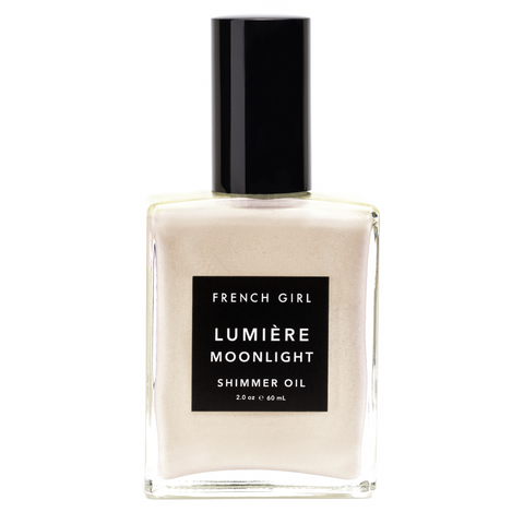 French Girl Organics Lumiere Moonlight Shimmer Oil available at Oliv Beauty Market Canada