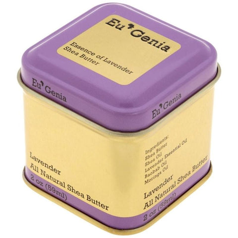Eu'Genia Shea Everyday Shea Butter Lavender available at Oliv Beauty Market Canada