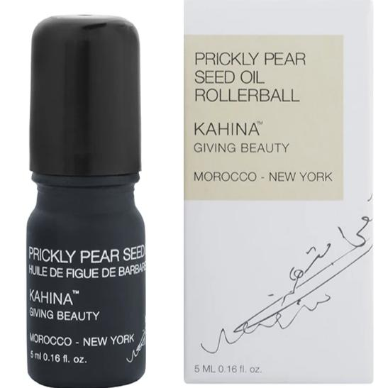 Kahina Giving Beauty Prickly Pear Seed Oil Rollerball available at Oliv Beauty Market Canada