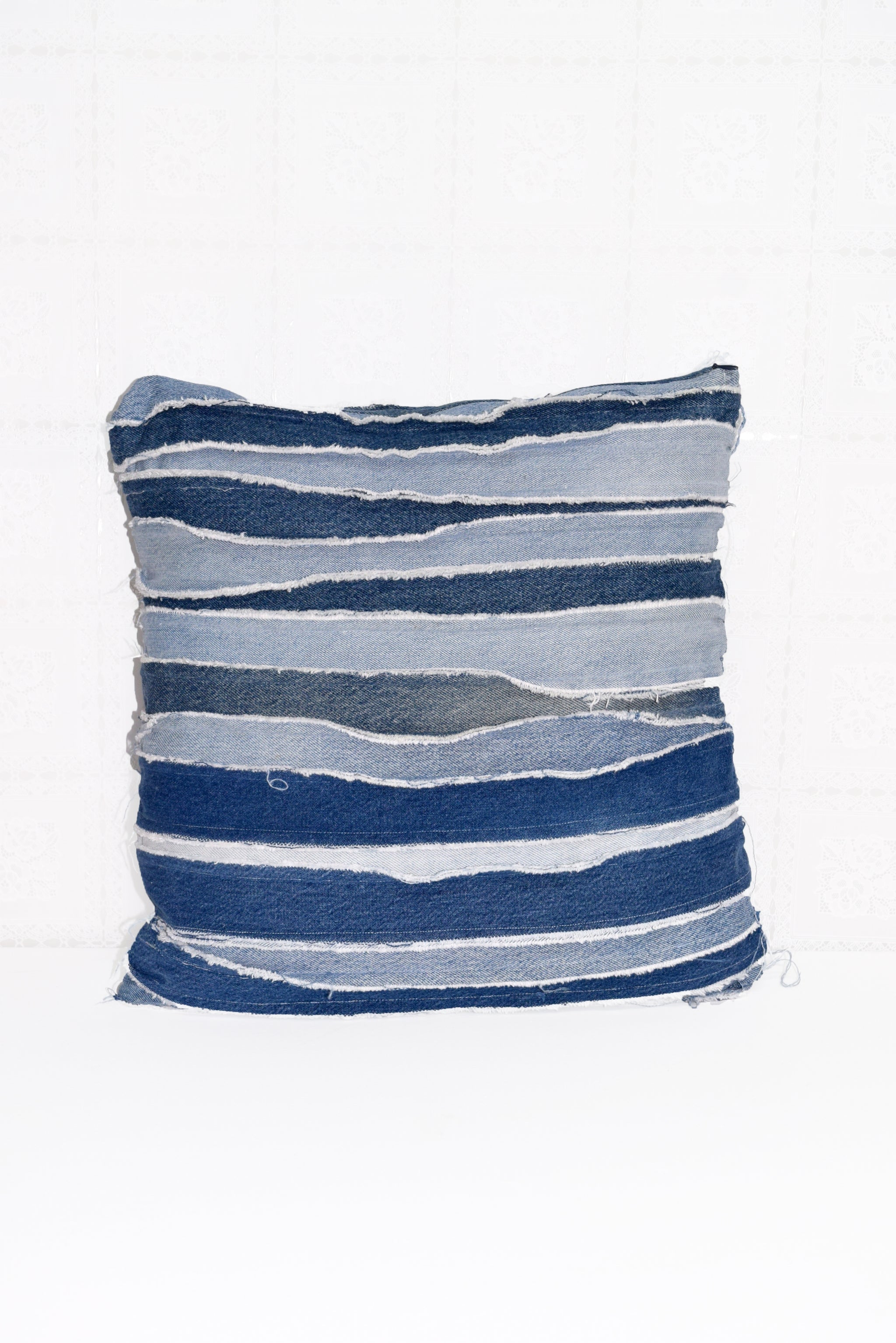 denim pillow cover, denim pillow case