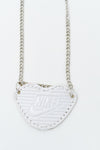 Nike Necklace-White